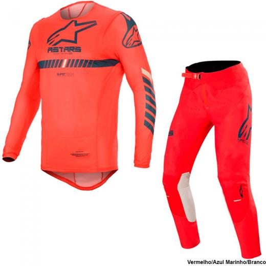 Kit Cal�a + Camisa Alpinestars Supertech