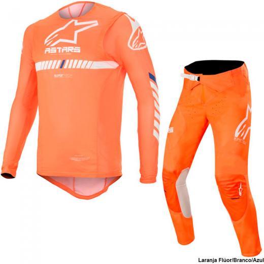 Kit Cal�a + Camisa Alpinestars Supertech