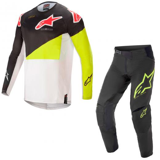 Kit Cal�a + Camisa Alpinestars Techstar Factory 2021