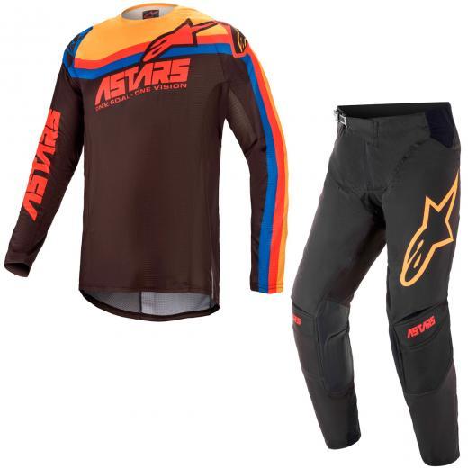 Kit Cal�a + Camisa Alpinestars Techstar Venom 2021