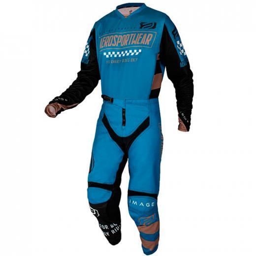 Kit Cal�a + Camisa ASW Image Knight 2021 Azul