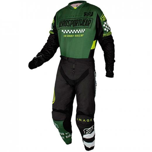 Kit Cal�a + Camisa ASW Image Knight 2021 Verde