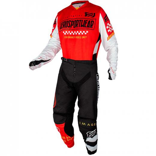 Kit Cal�a + Camisa ASW Image Knight 2021 Vermelho