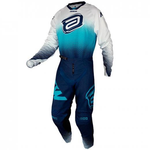 Kit Cal�a + Camisa ASW Image Mandala 2021 Branco/Azul