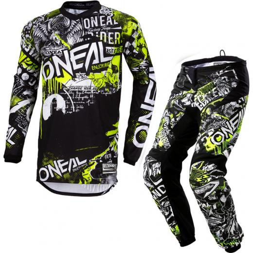 Kit Cal�a + Camisa ONeal Element Attack