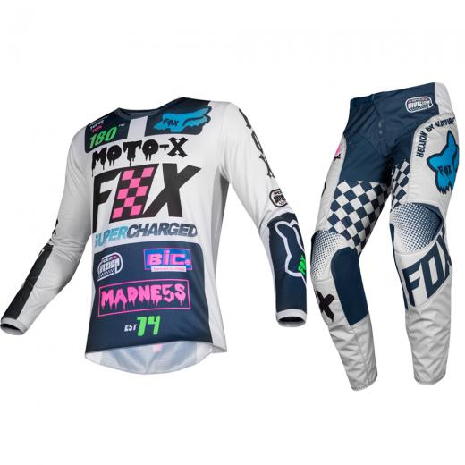 Kit Cal�a + Camisa Fox 180 Czar 2019