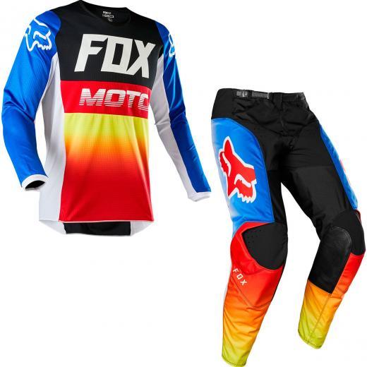 Kit Cal�a + Camisa Fox 180 Fyce