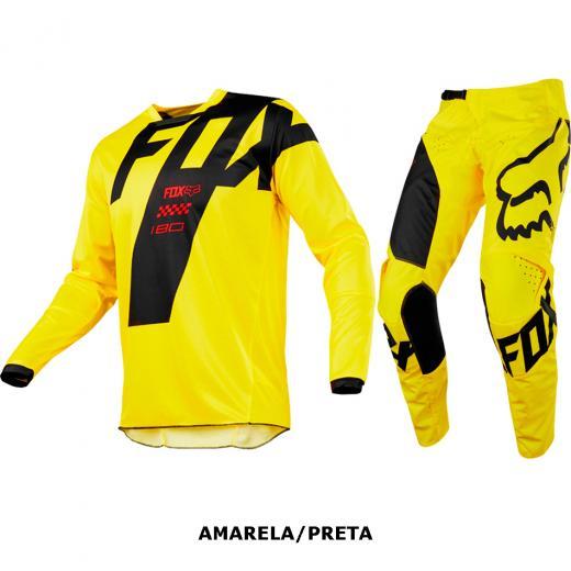 Kit Cal�a + Camisa Fox 180 Mastar
