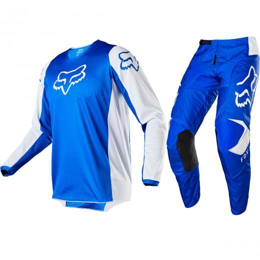 Kit Cal�a + Camisa Fox 180 Prix 2020 Azul