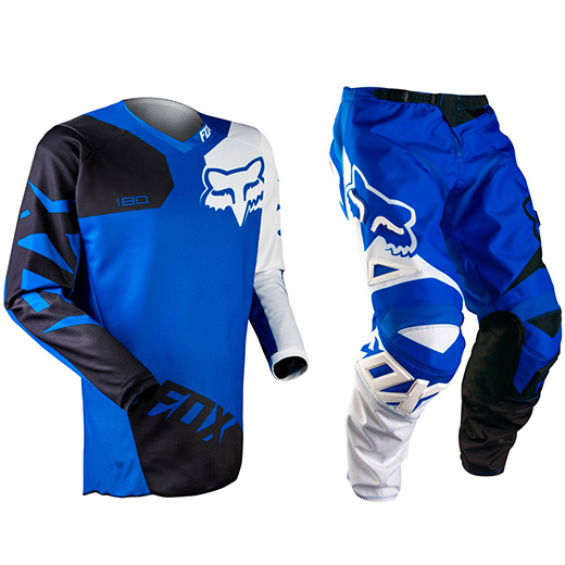 Kit Cal�a + Camisa Fox 180 Race