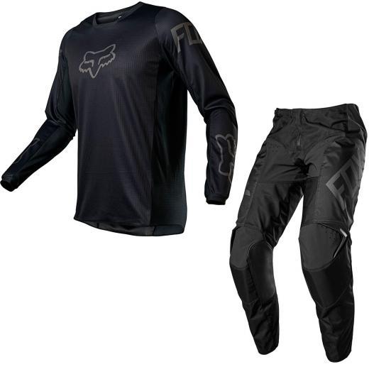 Kit Cal�a + Camisa Fox 180 Revn 2021 Preto