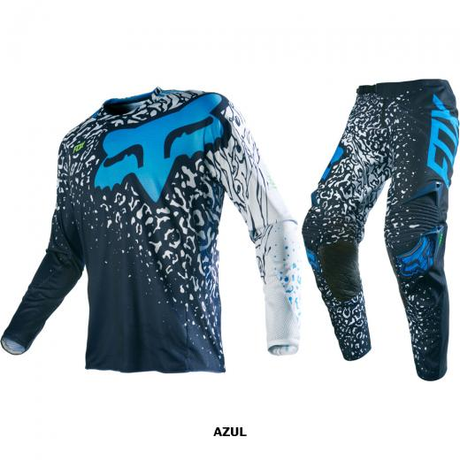 Kit Cal�a + Camisa Fox 360 Cauz