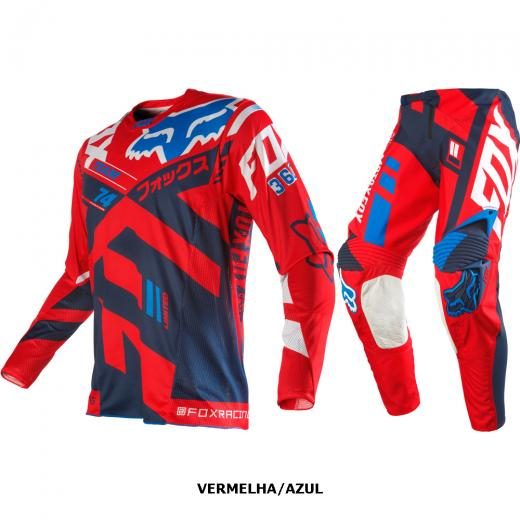 Kit Cal�a + Camisa Fox 360 Divizion