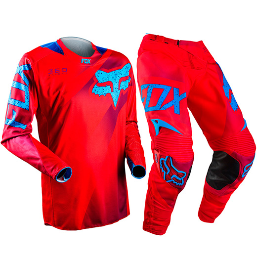 Kit Cal�a + Camisa Fox 360 Flight