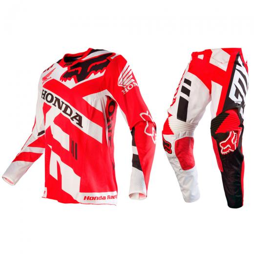 Kit Cal�a + Camisa Fox 360 Honda