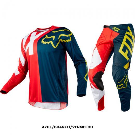 Kit Cal�a + Camisa Fox 360 Preme