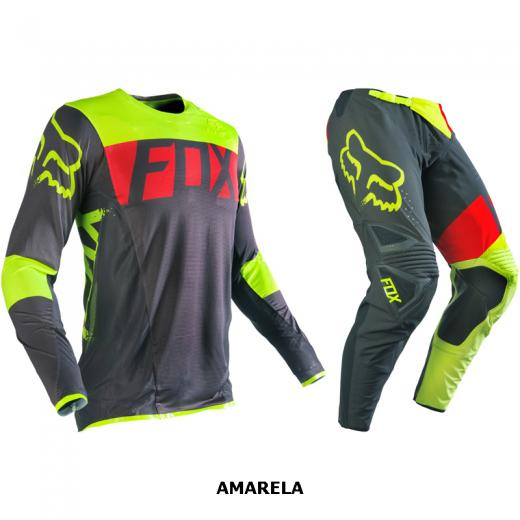 Kit Cal�a + Camisa Fox Flexair Libra