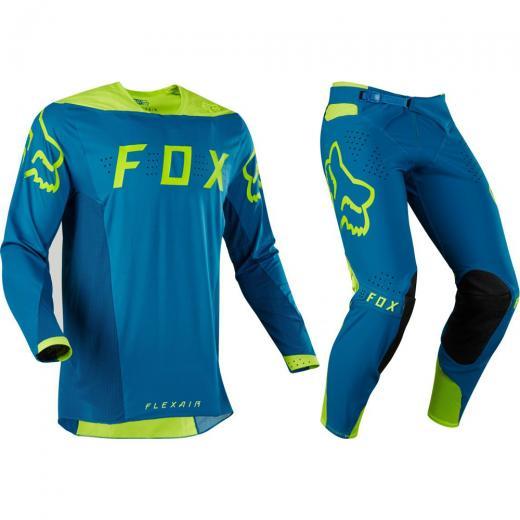 Kit Calça + Camisa Fox Flexair Teal Moth Edição Limitada 3434c572309c3