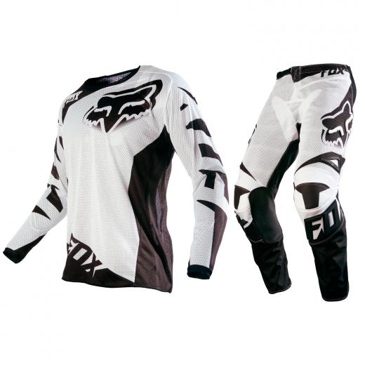 Kit Cal�a + Camisa Fox 180 Race Airline