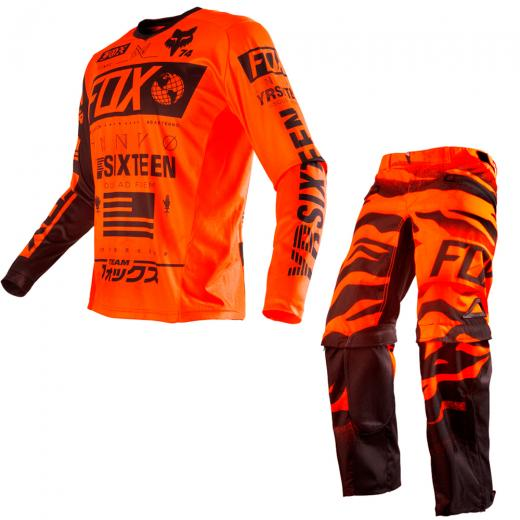 Kit Cal�a + Camisa Fox Nomad