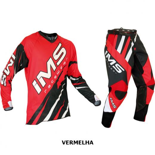 Kit Cal�a + Camisa IMS Action Pro