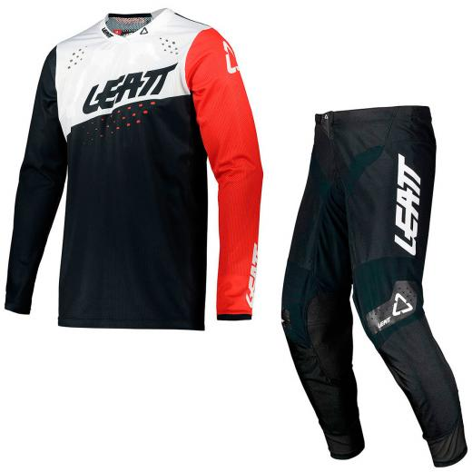 Kit Cal�a + Camisa Leatt Moto 4.5 2021