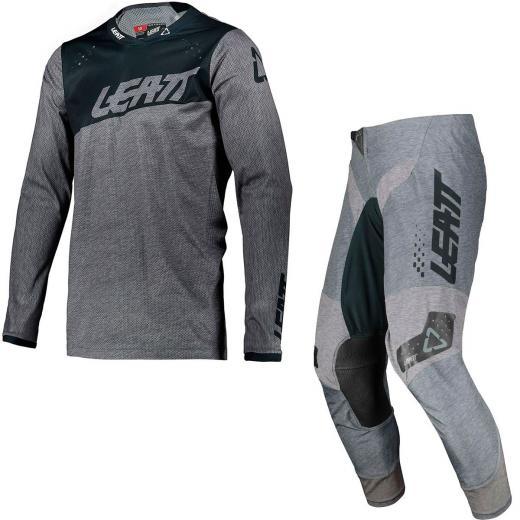 Kit Cal�a + Camisa Leatt Moto 4.5 Brushed 2021