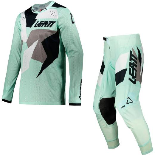 Kit Cal�a + Camisa Leatt Moto 4.5 Ice 2021