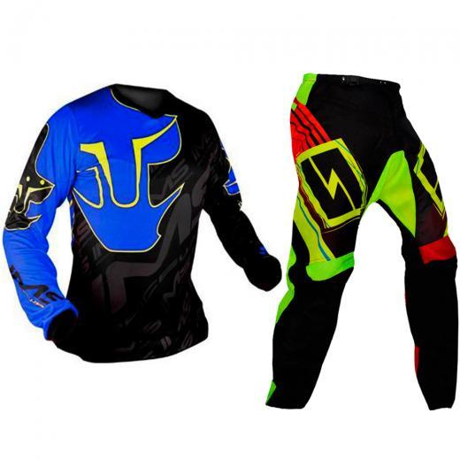 Kit Cal�a + Camisa Motocross