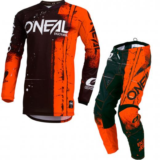Kit Cal�a + Camisa ONeal Element Shred