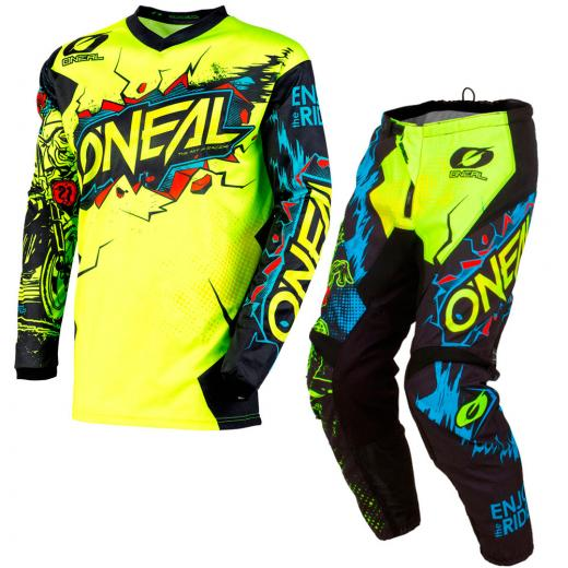 Kit Cal�a + Camisa Oneal Element Villain 2020
