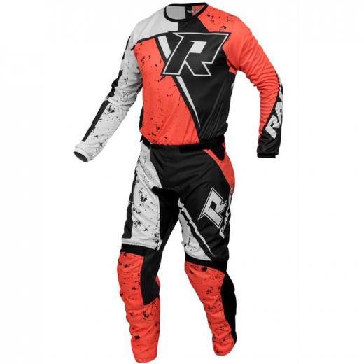 Kit Cal�a + Camisa Racer Bravo Laranja
