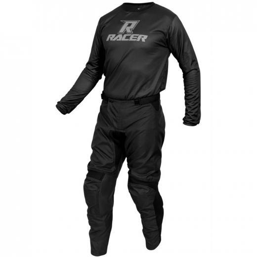 Kit Cal�a + Camisa Racer Clean Preto