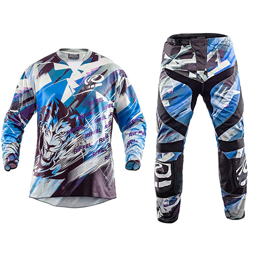 Kit Cal�a + Camisa Riffel Motocross