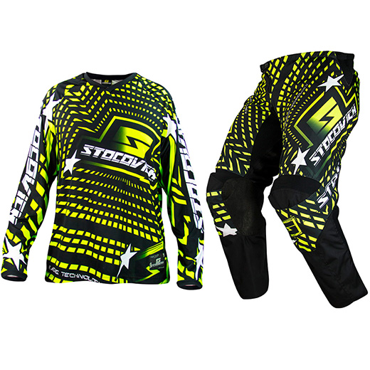 Kit Cal�a + Camisa Stocovich Racing Fluor