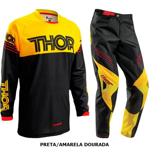 Kit Cal�a + Camisa Thor Phase Hyperion