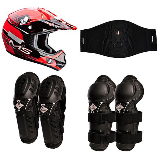 Kit Equipamento Motocross Infantil IMS