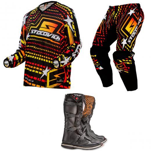 Kit Equipamento Motocross Racing