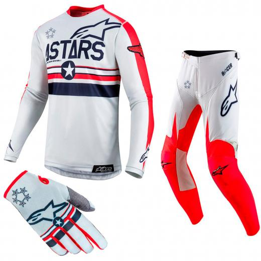 Kit Equipamentos Alpinestars Racer Tech Five Star