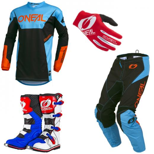 Kit Equipamentos Oneal Racewear