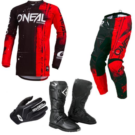 Kit Equipamentos Oneal Shred
