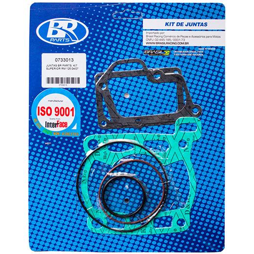 Kit de Juntas Superior BR Parts RM 125 04/07