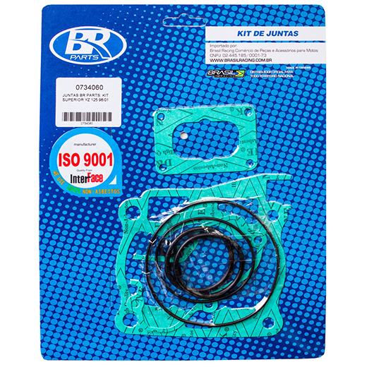 Kit de Juntas Superior BR Parts YZ 125 98/01