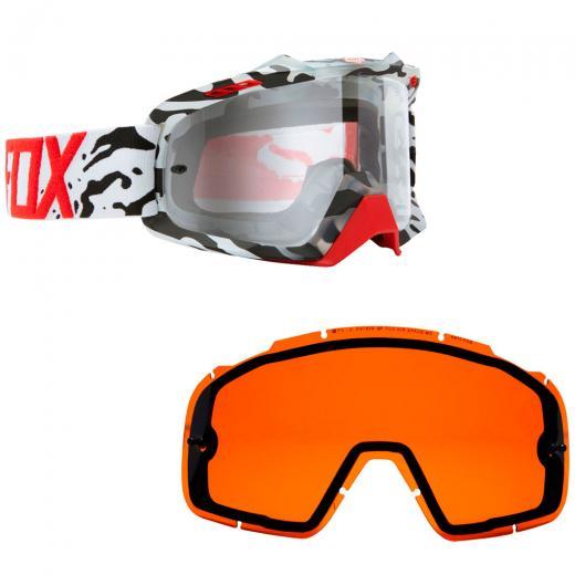 Kit �culos Fox Air SPC Cauz + Lente Fox Air SPC Dual