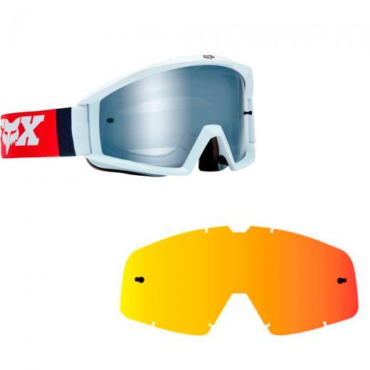 Kit �culos Fox Main Cota + Lente Fox Main Espelhada