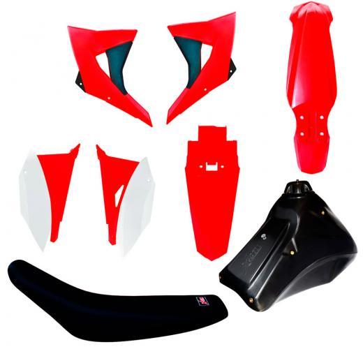 Kit Pl�stico CRF 230 - Biker X-Cell