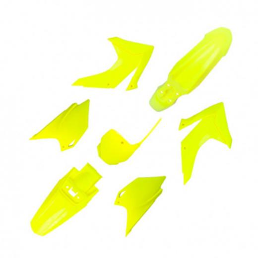 Kit Pl�stico UFO CRF 230 15/19 - Amarelo Fluo