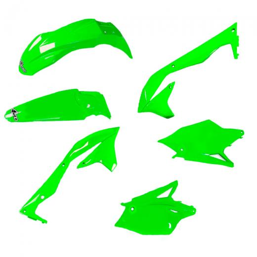 Kit Pl�stico UFO KXF 450 16/17 - Verde
