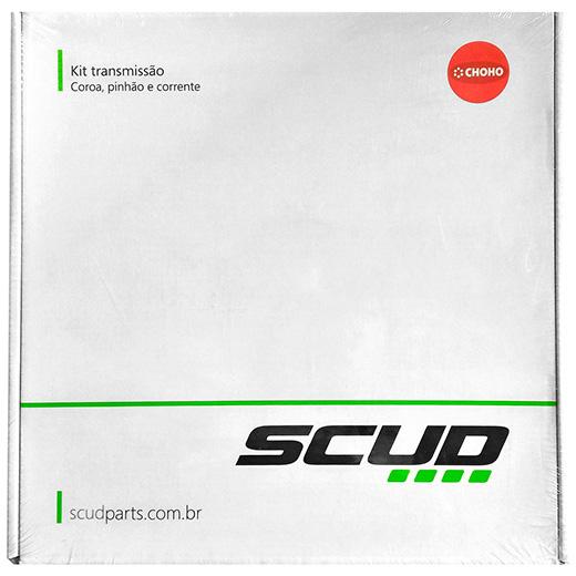 Kit Rela��o Coroa/Corrente/Pinh�o SCUD CRF 230