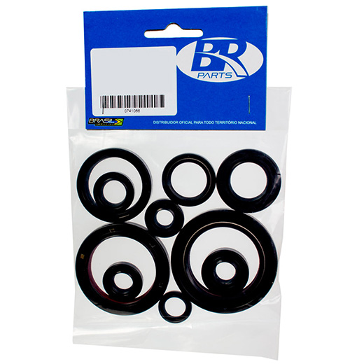 Kit Retentor de Motor BR Parts CRF 450 09/13